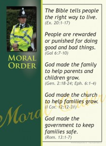 Primary Poster: Moral Order